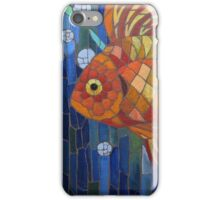 under the sea with a fish like me iPhone Case/Skin