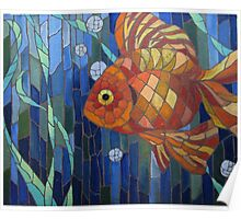 under the sea with a fish like me Poster