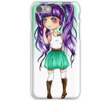 Purple Pigtails iPhone Case/Skin
