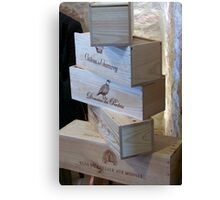 Stacked After Wine Tasting Canvas Print