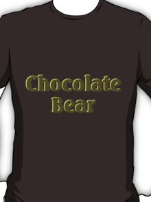 Scrubs Chocolate Bear T-Shirt