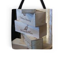 Stacked After Wine Tasting Tote Bag