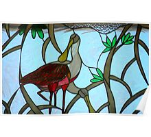 Natural Stained-Glass Art Poster