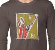 art is my hero Long Sleeve T-Shirt