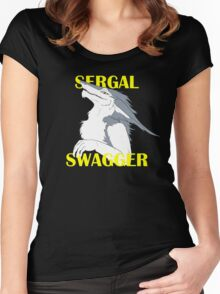Sergal Swagger Women's Fitted Scoop T-Shirt