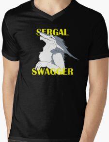 Sergal Swagger Mens V-Neck T-Shirt