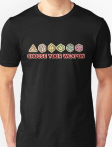 Dungeons And Dragons Choose Your Weapon T-Shirt