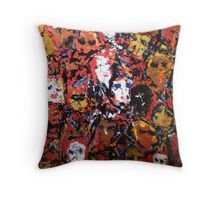 Tranformation of the Collective Female Consciousness Throw Pillow