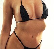 black bikini by alriccio