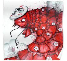 Fan Fish Poster