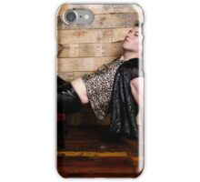 Austin Warren - Leopard Realness Horizontal iPhone Case/Skin