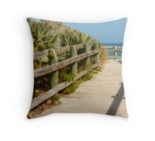 Dune Walk Throw Pillow