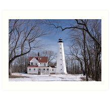 Milwaukee Lighthouse Art Print