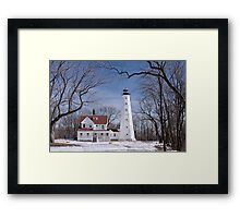 Milwaukee Lighthouse Framed Print