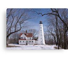 Milwaukee Lighthouse Canvas Print