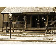 Main Streets Oldest Standing Home Photographic Print