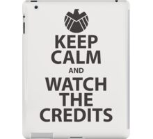 keep calm marvel iPad Case/Skin