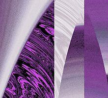 Purple Skyscraper by Julie Shortridge