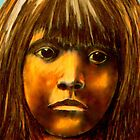LaKota Child- Detail Study by Susan Bergstrom