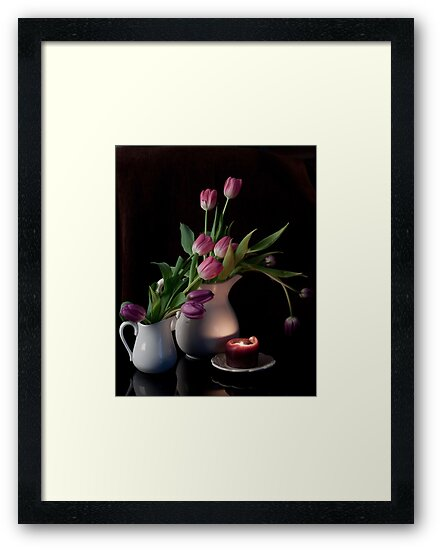 The Beauty of Tulips by Sherry Hallemeier
