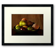 Precious Fruit Bowl Framed Print