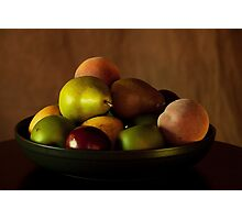 Precious Fruit Bowl Photographic Print