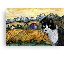Tasha's Sunset Canvas Print