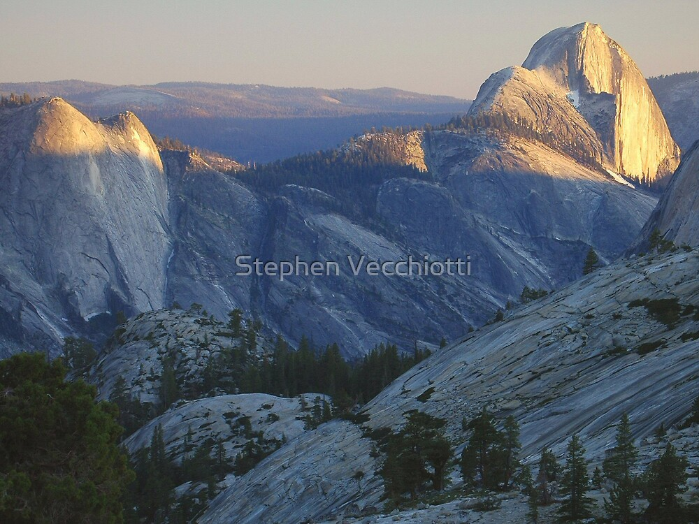 Evening Sunlight, Olmsted Point by Stephen Vecchiotti