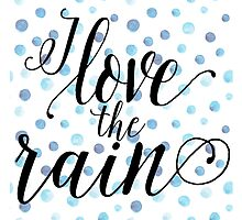 I love the rain by sevenroses