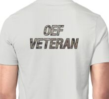 OEF Veteran Multicam Text Unisex T-Shirt