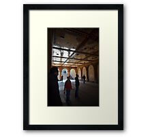 Bethesda Terrace Arcade Framed Print