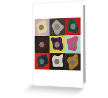 Simultaneous Contrast Greeting Card