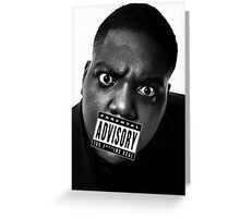 Biggie Smalls - Too Real Greeting Card