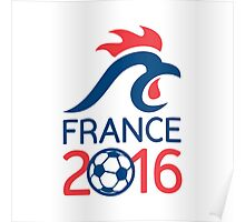 France 2016 Europe Football  Championships Poster