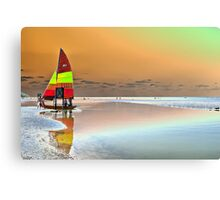 Lone Sail Canvas Print