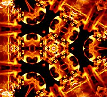 fire dna  Photographic Print