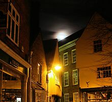 Full moon over York by clickinhistory