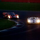 Racing in the dark by Paul Woloschuk