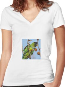 Great Fruit! Women's Fitted V-Neck T-Shirt