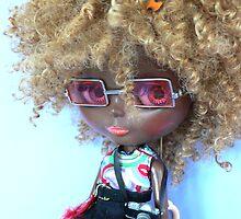 Square glasses by MaryHogan