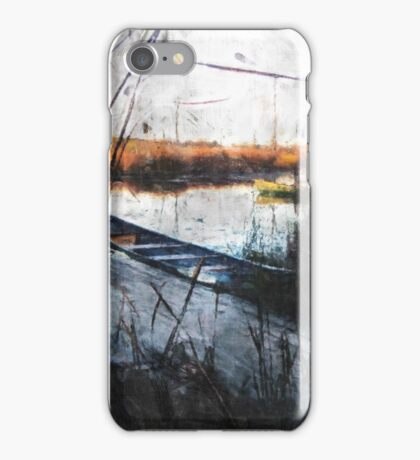 At the Dock iPhone Case/Skin
