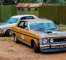 XW GTs by Neil Bushby