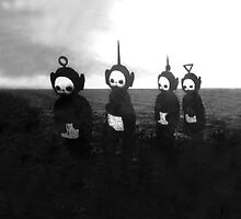 Creepy Teletubbies by Chaddersatz