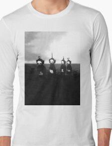 Creepy Teletubbies Long Sleeve T-Shirt