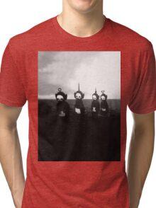 Creepy Teletubbies Tri-blend T-Shirt