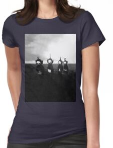 Creepy Teletubbies Womens Fitted T-Shirt