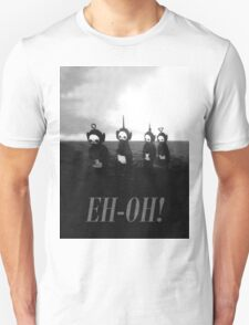 Creepy Teletubbies - say Eh-Oh! T-Shirt