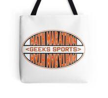 Math Marathon geeks sports Tote Bag