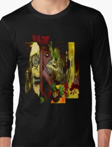 T SHIRT DESIGN: MALLCARBRE COMIC Long Sleeve T-Shirt
