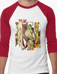 T SHIRT DESIGN: MALLCARBRE COMIC Men's Baseball ¾ T-Shirt